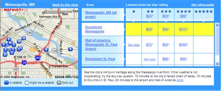 Minneapolis hotels available through Orbitz