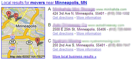 "One-Box results for ""Minneapolis movers"""