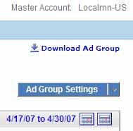 Ad GroupSettings