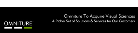 Omniture to Acquire VisualSciences