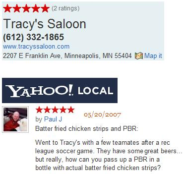 Tracy's Saloon