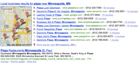 Minneapolis Pizza
