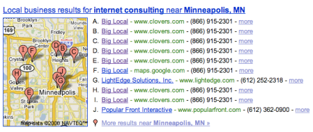 Big Local spam