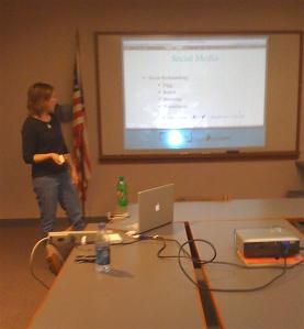 Heather Presenting