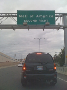 Traffic Jam at the Mall of America