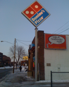 Dominos on Oak Street